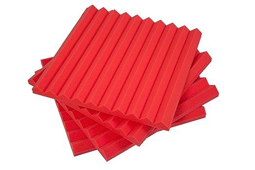 2 opinioni per Pannelli Fonoassorbenti Monopiramide 50x50x4 D35 Rosso