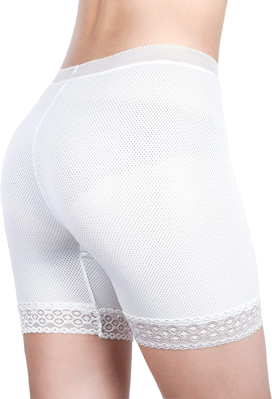 Slip Shorts for Women Short Leggings Lace Shorts Underwear Yoga Shorts Stretch Safety Active Leggings Undershorts
