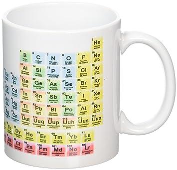 Amazon periodic table science chemistry novelty mug tea coffee periodic table science chemistry novelty mug tea coffee gift office cup urtaz Images