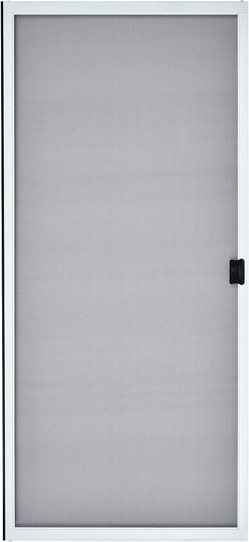 """K.D. Heavy Duty Sliding Patio Screen Door Kit (36"""" x 80"""", White) - 1-7/8"""" Frame"""