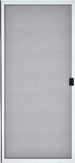 K D Standard Aluminum Sliding Patio Screen Door Kit 36 X 80 White 1 7 8 Frame Amazon Com