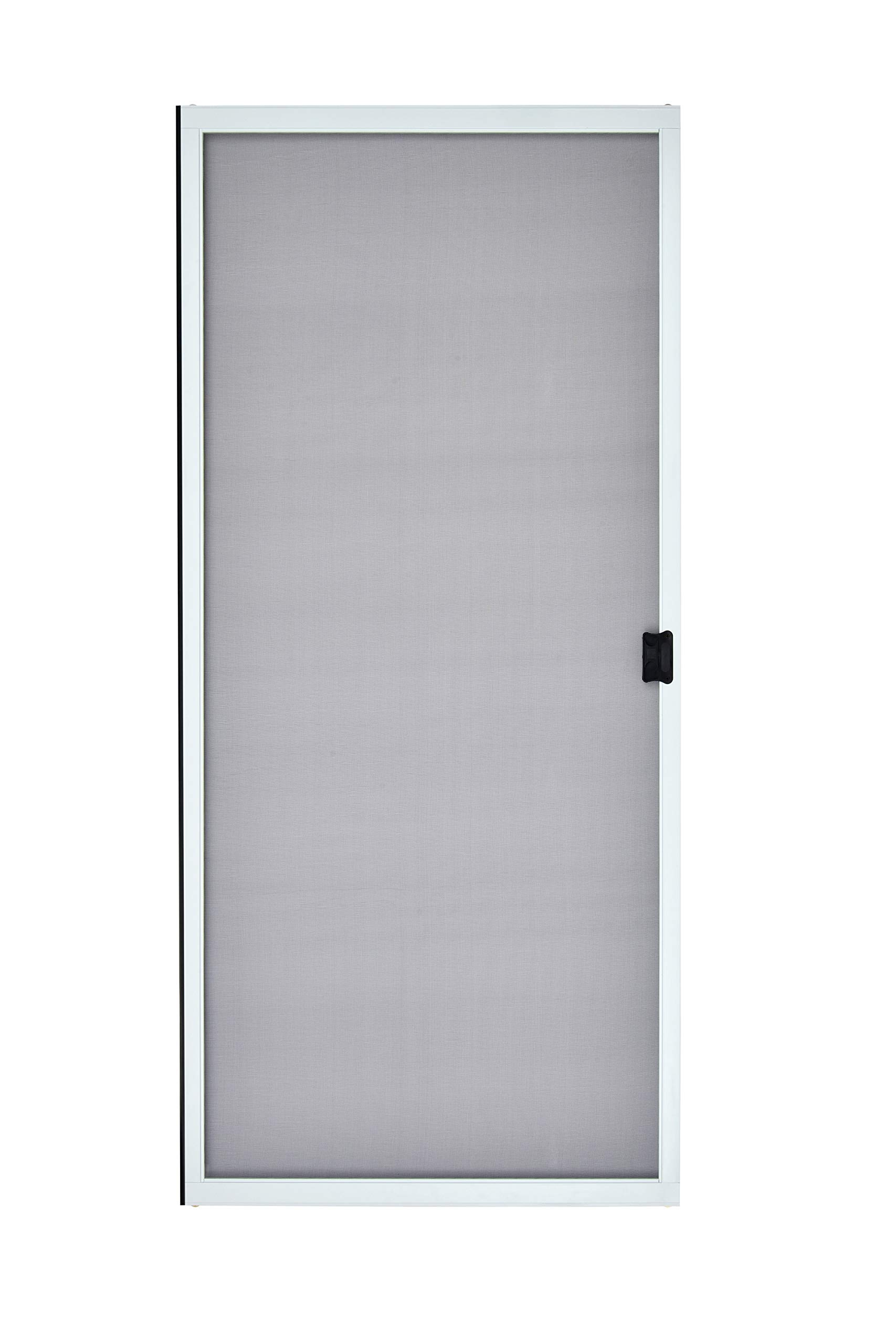 K.D. Heavy Duty Sliding Patio Screen Door Kit (36'' x 96'', White) - 1-7/8'' Frame by Guardian Built