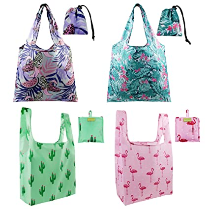 amazon com grocery bags reusable bags for shopping tote bag