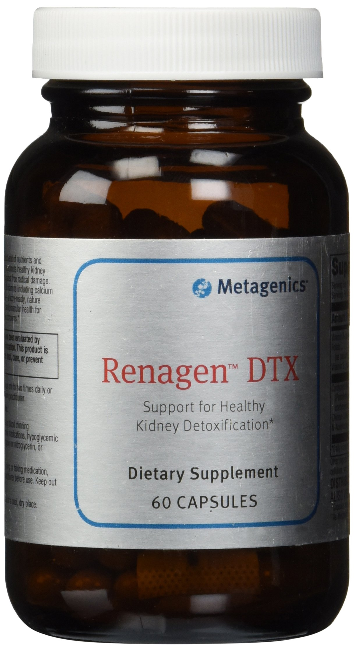 Metagenics Renagen DTX Capsules, 60 Count