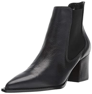 9f74dc3e06 LFL by Lust for Life Women's L-TENESSE Ankle Boot, Black Leather, 7