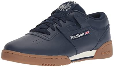 Reebok Men s Workout Clean Cross Trainer Collegiate Navy Chalk 3.5 ... edea2335a
