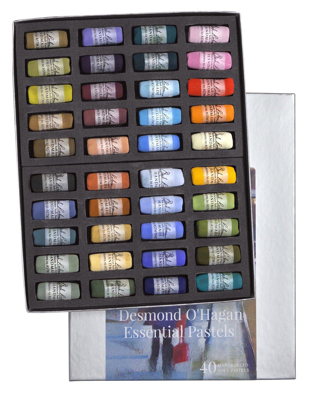 Desmond O'Hagan DOH01 Essential Pastel (Set of 40) by Desmond O'Hagan