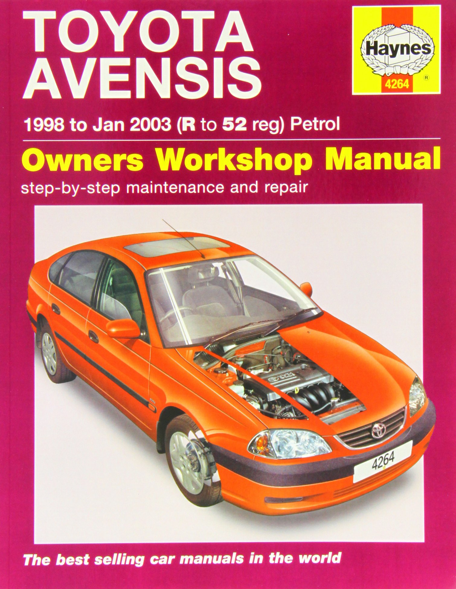 toyota avensis haynes publishing 9780857336965 amazon com books rh amazon com toyota avensis t22 owner's manual toyota avensis 2002 owners manual pdf