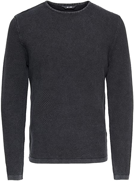 Only & Sons Onshugh Line Crew Knit Noos suéter para Hombre