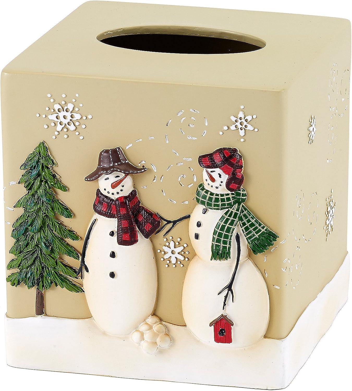 Avanti Snowmen Gathering Tissue Cover