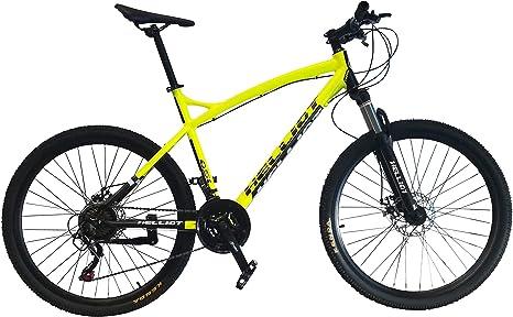 Helliot Bikes Oslo Pro 01 Bicicleta De Montaña, Amarillo, M-L ...