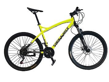 Helliot Bikes Oslo Pro 01 Bicicleta De Montaña, Amarillo, M-L: Amazon.es: Deportes y aire libre