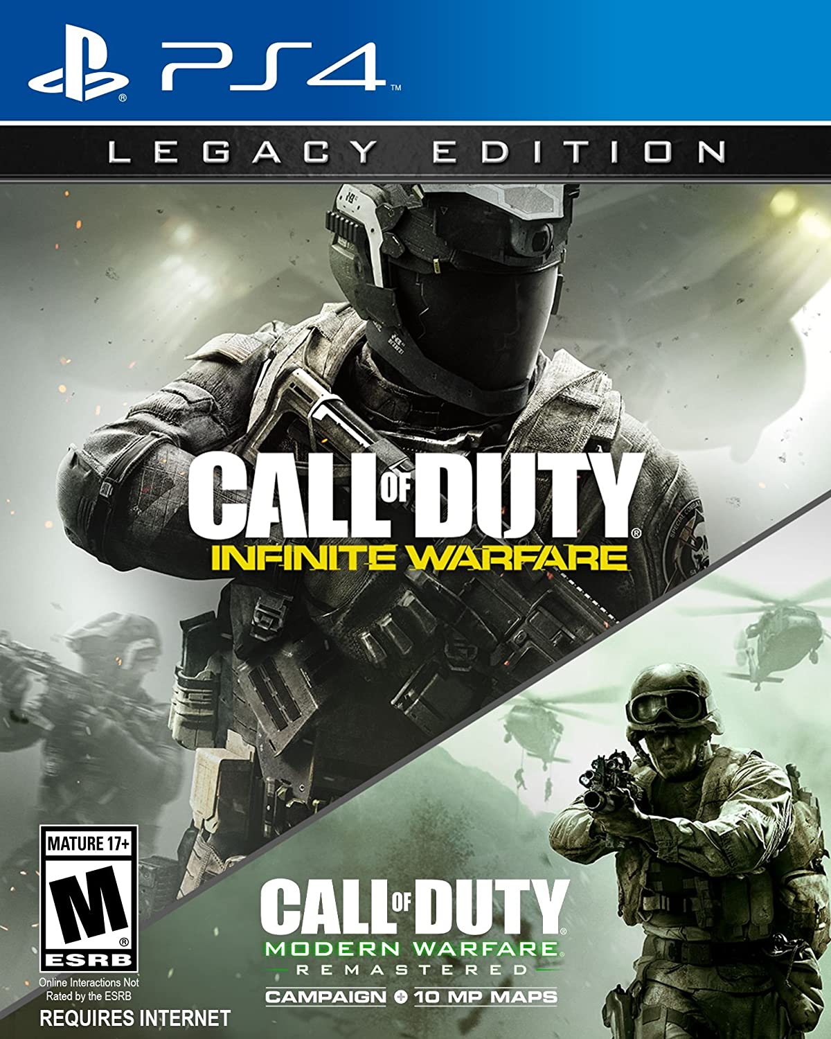 Amazon Com Call Of Duty Infinite Warfare Ps4 Legacy Edition Activision Inc Video Games