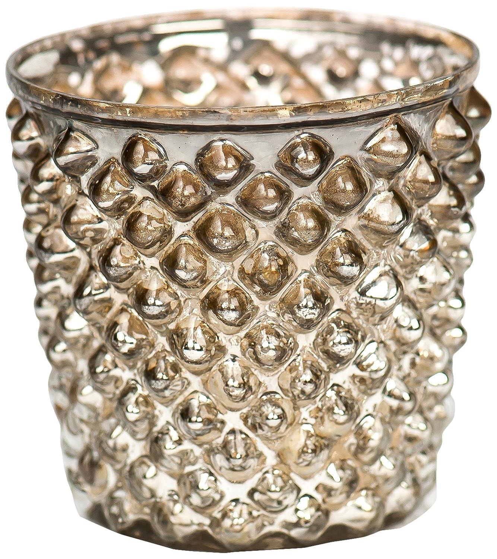 Insideretail 700451-12 700451-12 700451-12 Diamond Teelichthalter, 7 cm, 12-er Set, antik silber B00KE6J9PW Teelichthalter a2c1d2