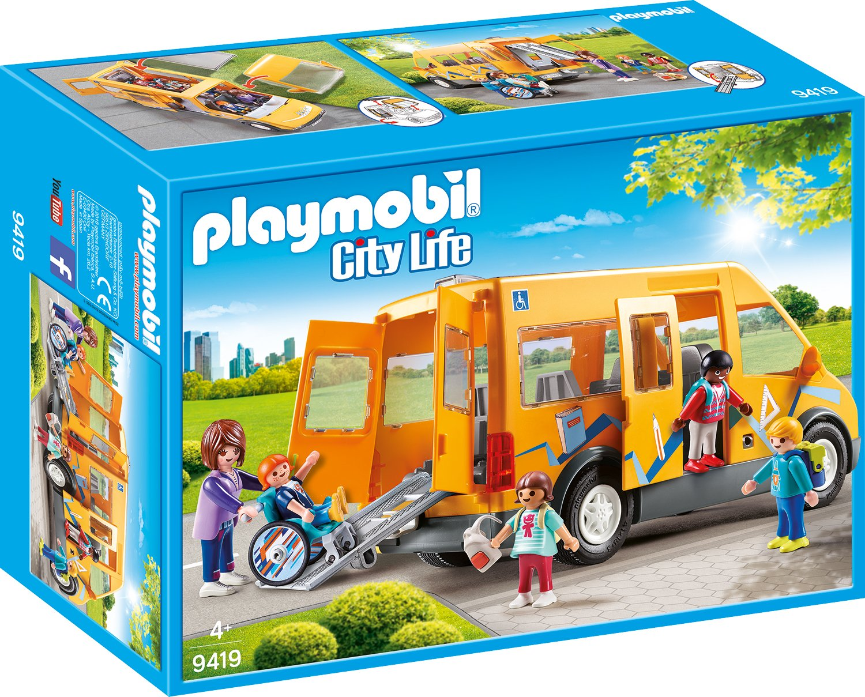 PLAYMOBIL® 9419 School bus - NEW 2018