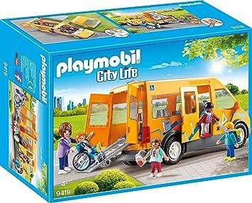 Playmobil 9419 Schulbus Spiel Amazonde Spielzeug