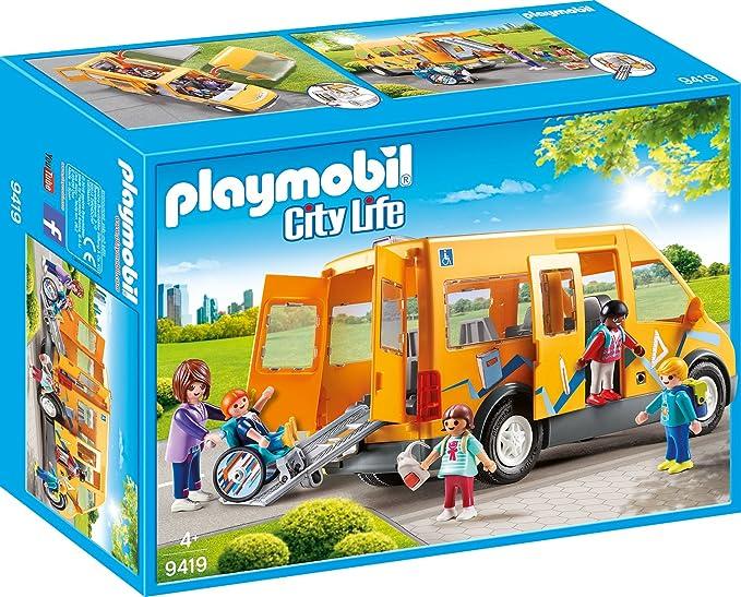 Playmobil Autobús Escolar Juguete geobra Brandstätter 9419: Amazon.es: Juguetes y juegos