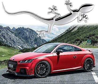 Car 3D ABS Auto Emblem Audi TTS TT S Chrome Logo Sticker Rear Tail Badge Trunk