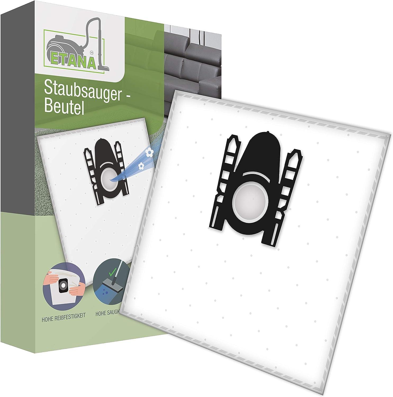 Etana Bolsa para aspiradora Compatible con Bosch BSG62080 I BSG 62080-20 Unidades de Bolsa de Polvo