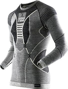 X-Bionic apani Merino by X UW LG SL. Camiseta de Cuello Redondo,