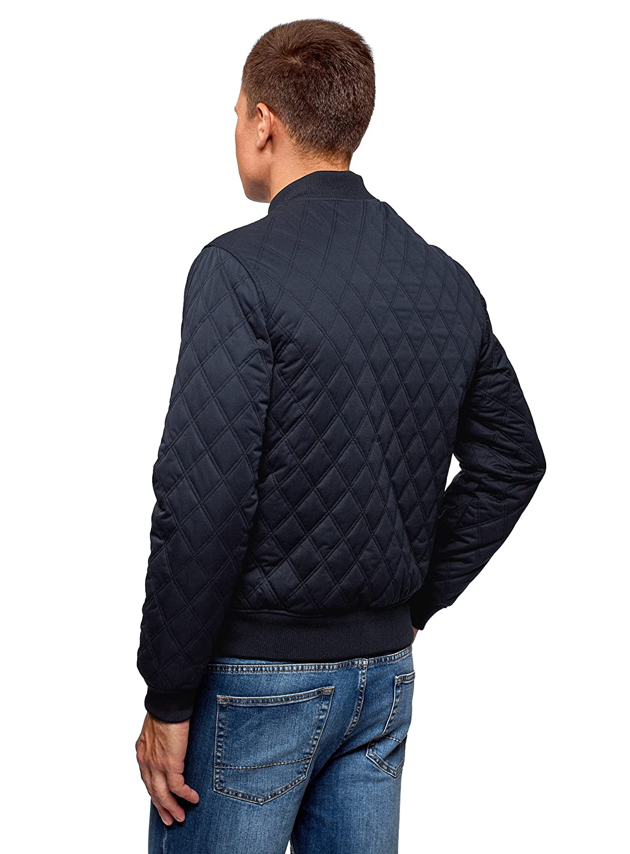 Oodji Ultra Herren Gesteppte Bomber-Jacke mit Reißverschluss B07F6ZPYXY Jacken Jacken Jacken Bekannt für seine schöne Qualität 2310cd