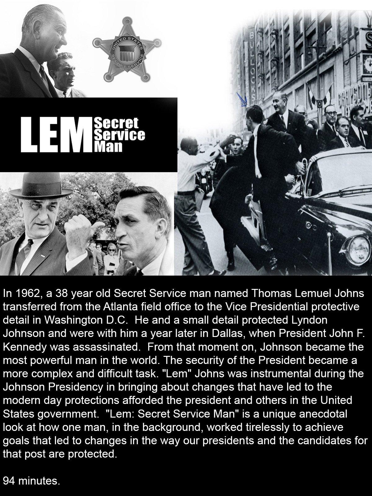 Lem Johns: Secret Service Man