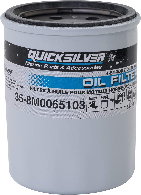 MARINER MERCURY 4 STROKE OIL FILTER KIT 40HP OUTBOARD