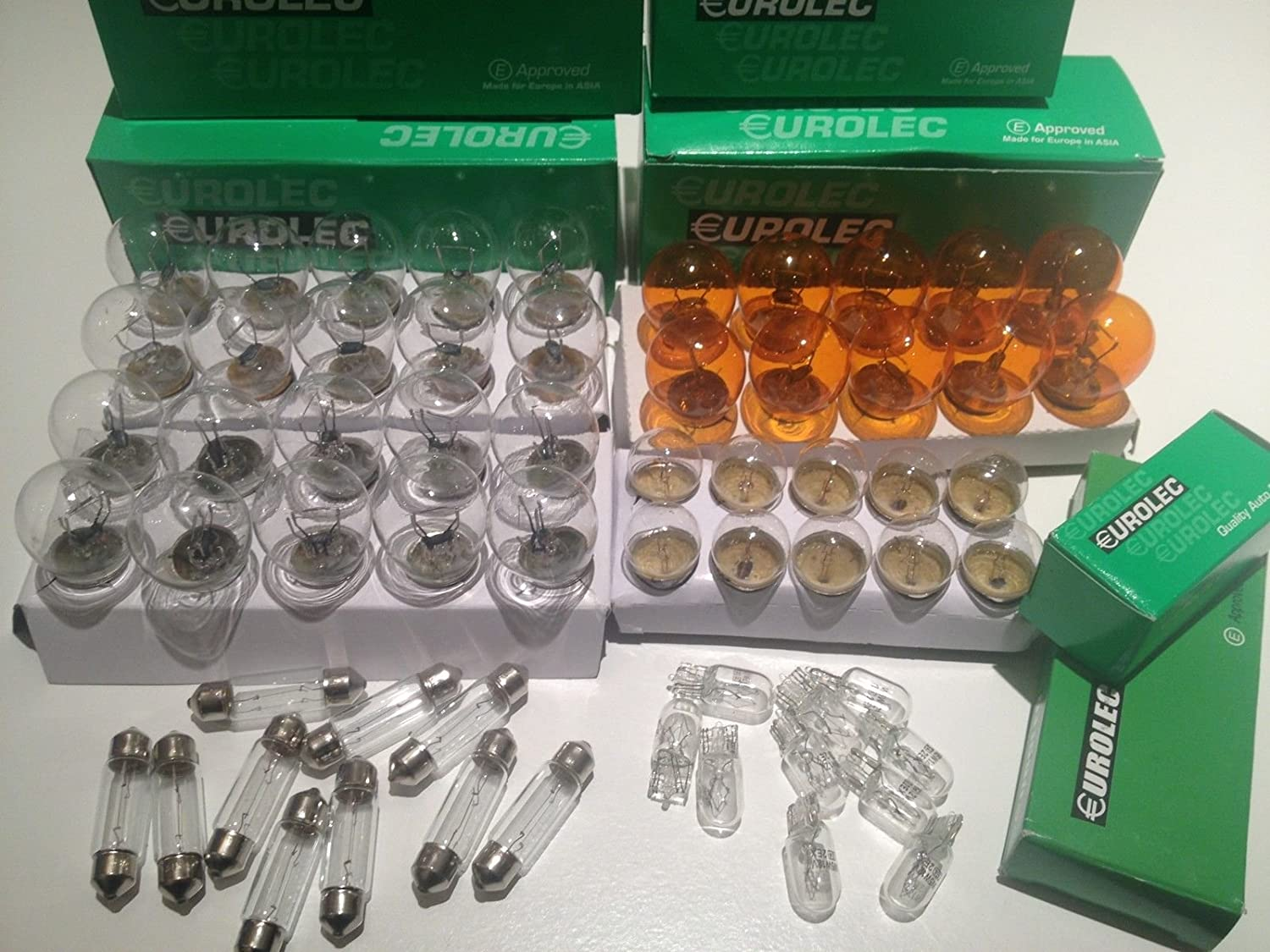 Pack of 10 380 Bulb 12v 21//5w BAY15d Stop and Tail Bulbs E Approved