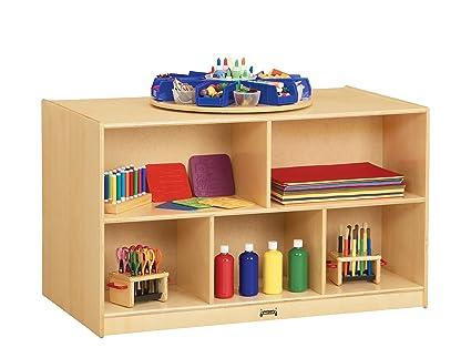 Jonti Craft 3920JC Double Island Bookshelf Shelves For Kid