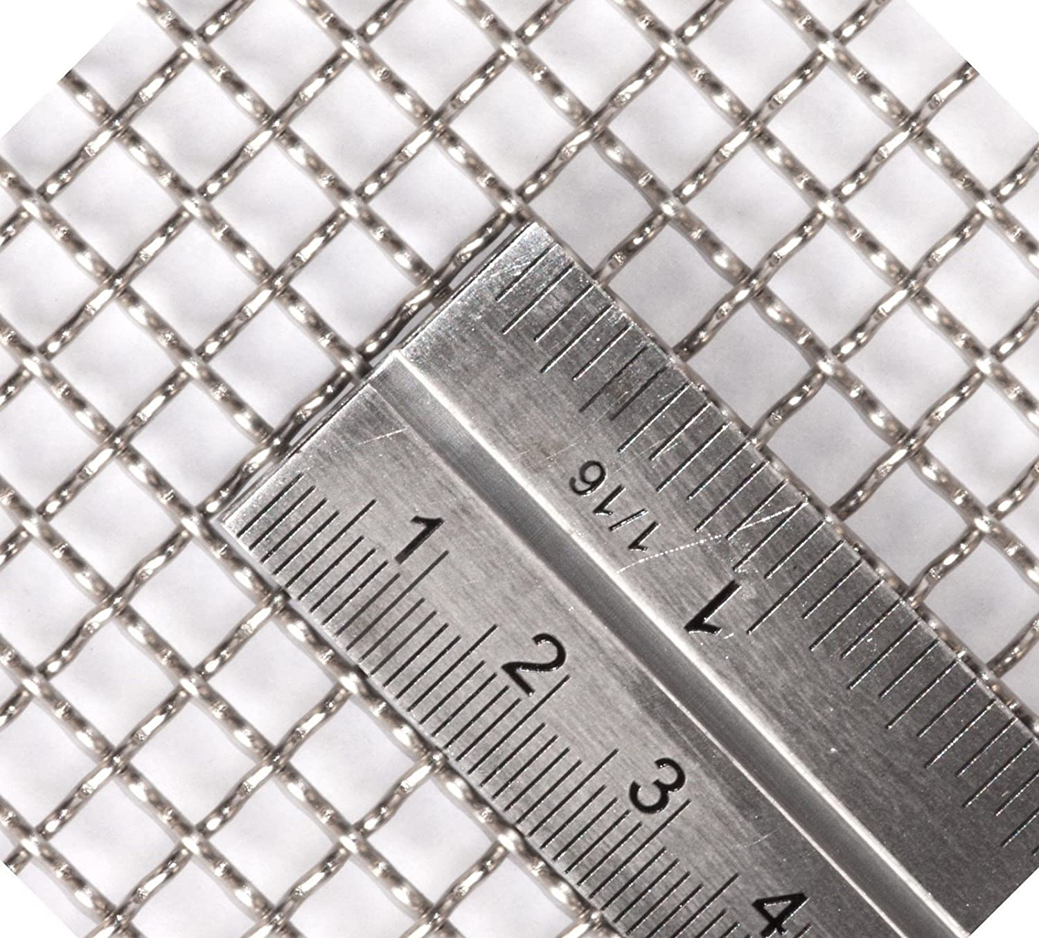 15cmx15cm By Inoxia Vent Screen; Size 40 Mesh Stainless Steel For Vivarium