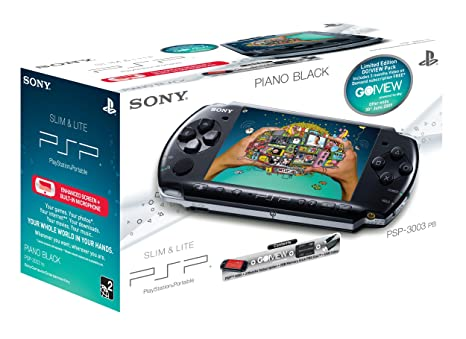 Sony PSP 3000 Series Slim And Lite Handheld Console Black With 2 GB Memory