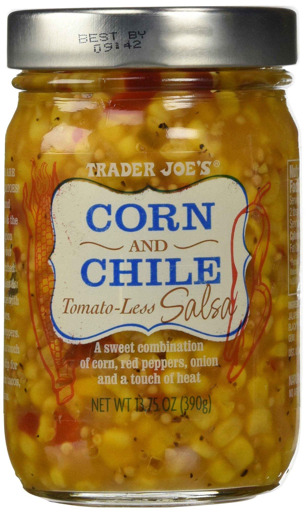 Trader Joe's Corn and Chile Tomato-less Salsa 13.75 oz by Trader Joe's