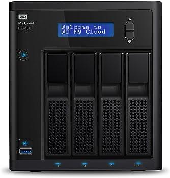 Western Digital My Cloud EX4100 24TB 4-Bay Network Attached Storage