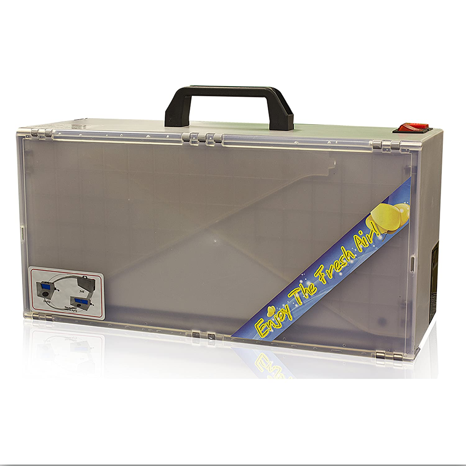 Best Choice Products Airbrush Spray Booth Kit Paint Craft Odor Extractor Hobby Crafts Figurines Beige
