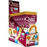 Quest Nutrition Protein Powder, Salted Caramel, 22g Protein, 3g Net Carbs, 88% P/Cals, 0.99oz Packet, 12 Count, High Protein, Low Carb, Gluten Free, Soy Free, Packaging May Vary