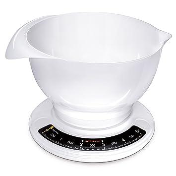 soehnle 6208302 balance de cuisine mécanique culina pro blanc 5 kg ... - Balance De Cuisine Professionnelle