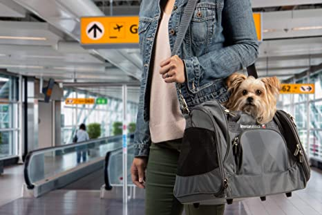 Image Unavailable. Image not available for. Color  Sherpa American Airlines  Duffel Airline Approved Pet Carrier ... 1a26d78ac590b