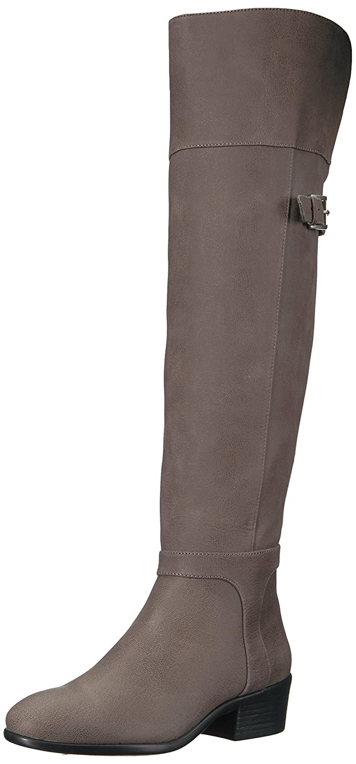 Aerosoles Women's Mysterious Over The Knee Boot B071NW7DBX 6 B(M) US|Grey