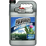 Pulverize PWG-UT-128 Weed & Grass Ready to Use Weed Killer, Clear