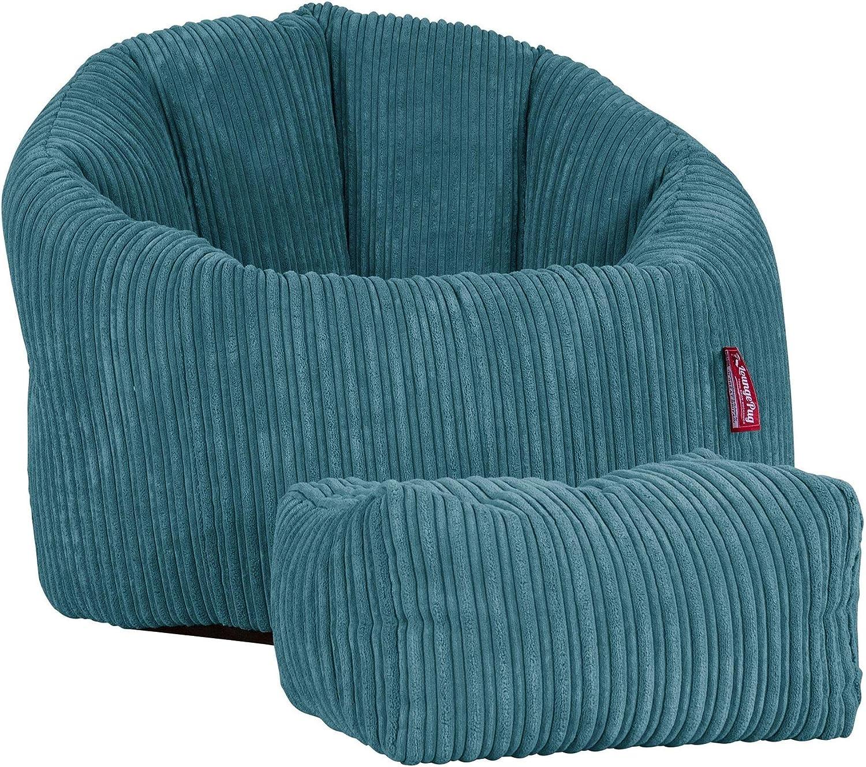 Lounge Pug/® Pouf Poire Super C/ôtel/é Mer /Ég/é/é Pouf Chaise Design