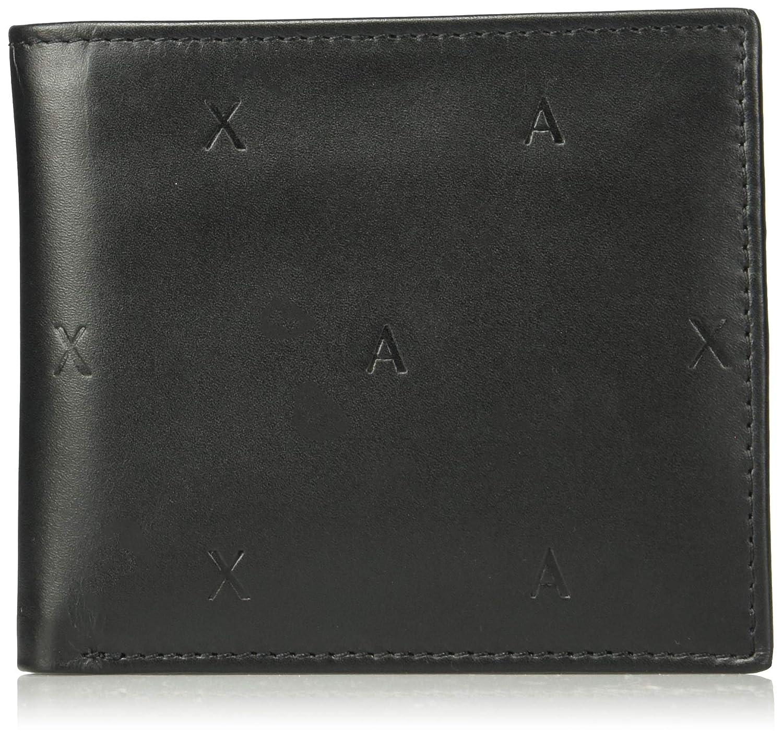 A|X Armani Exchange mens standard Bifold Coin Case Wallet Navy UNI 958098CC212