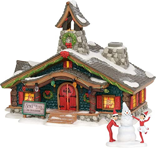 Department 56 North Pole Series Scout Elves in Training