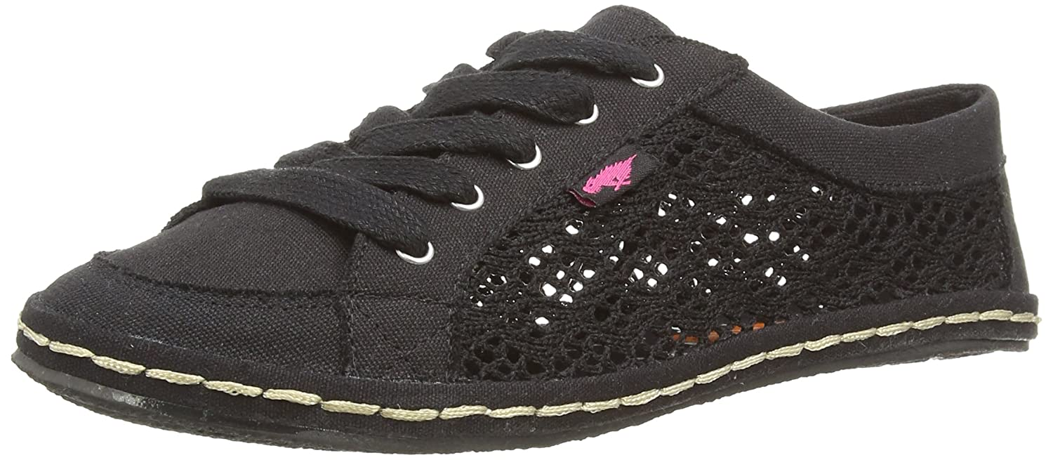 Rocket Dog Willie Lovely Crochet, Espadrillas da Donna  Nero (Noir (Lovely Crochet))
