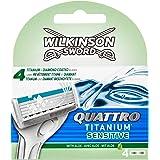 Wilkinson Lame Quattro Titanium Sensitive - Confezione 4 Pezzi
