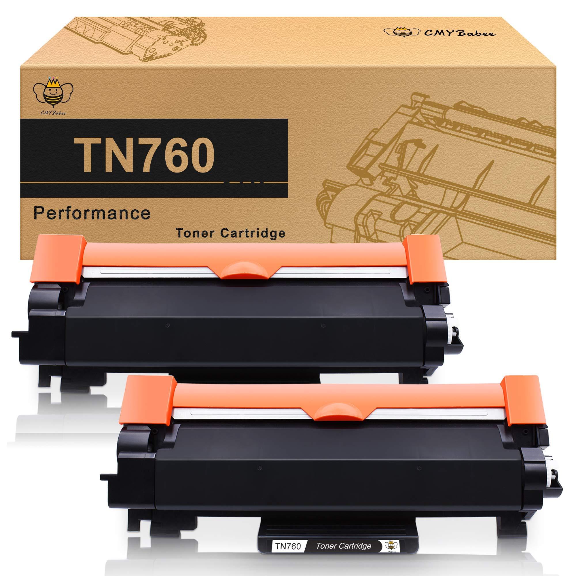 Toner Alternativo ( X2 ) Negro TN760 TN730 TN-760 TN-730 ...