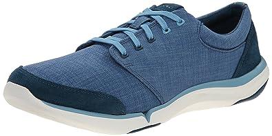 Teva Women's W Wander Canvas Lace Up Sneaker, Legion Blue, ...