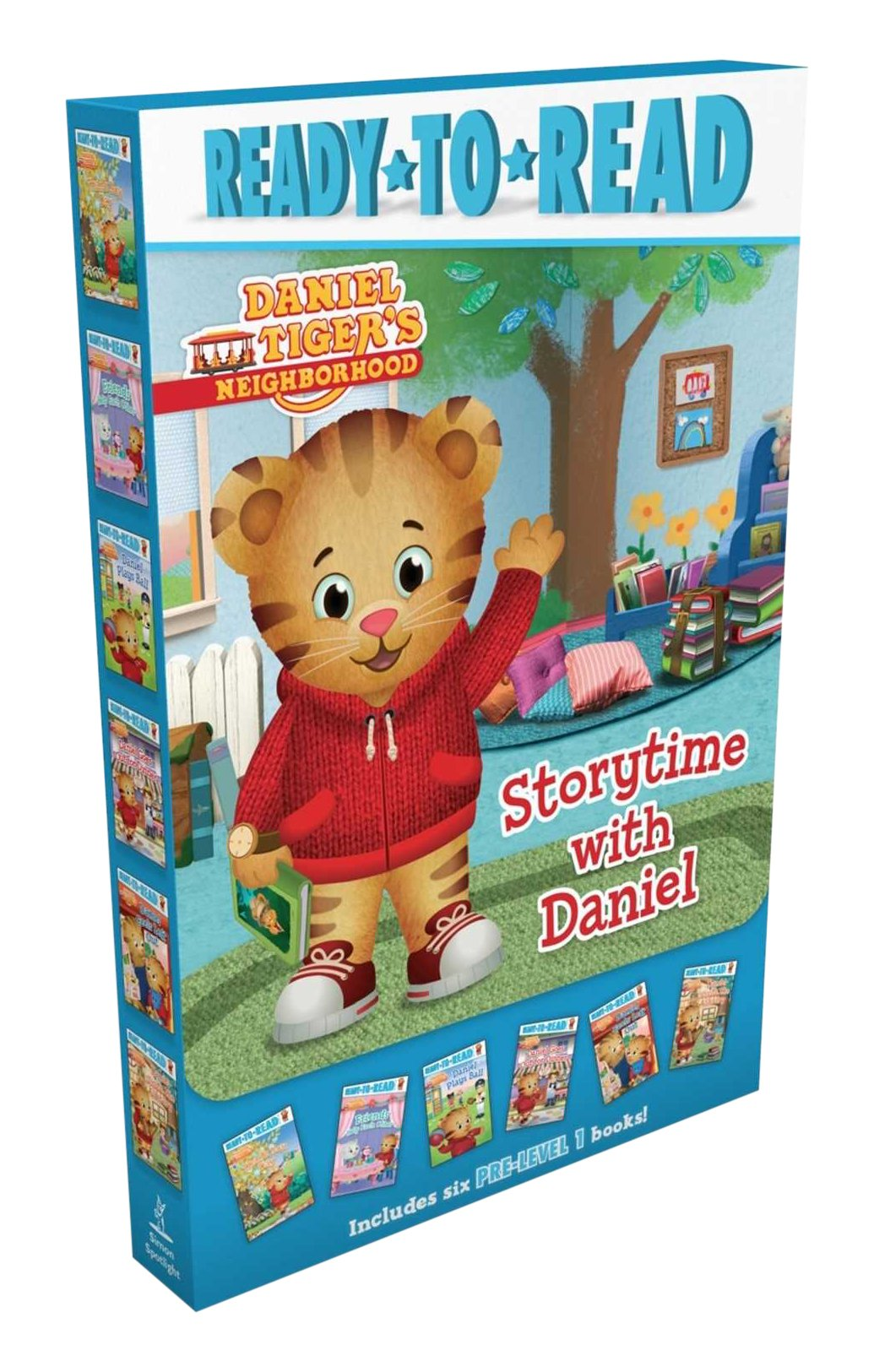 Storytime with Daniel: Thank You Day; Friends Help Each Other; Daniel Plays Ball; Daniel Goes Out for Dinner; Daniel Feels Left Out; Daniel Visits the Library (Daniel Tiger's Neighborhood)