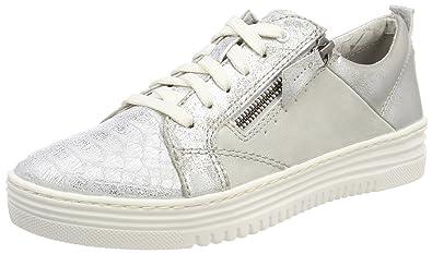 Damen 23701 Sneaker, Weiß (Offwhite Comb), 39 EU Jana