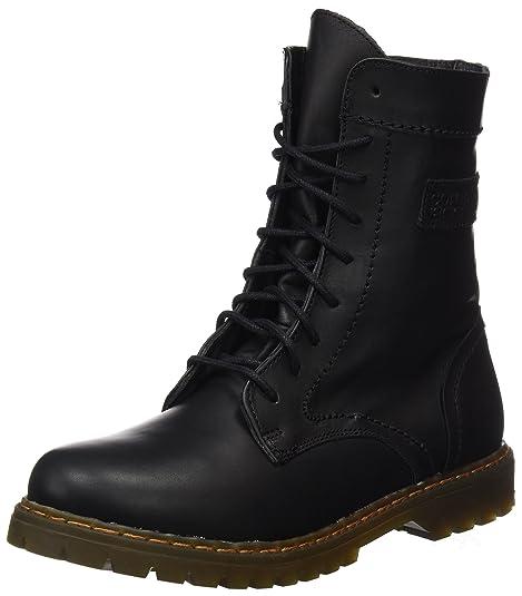 Coronel Tapiocca Piel Negro Botin Señora, Botas Slouch para Mujer, 0, 38 EU: Amazon.es: Zapatos y complementos