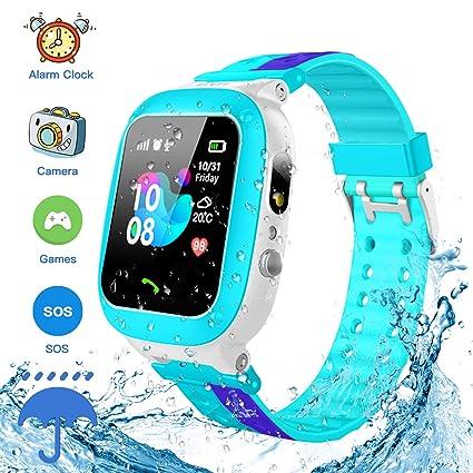 Amazon.com: Reloj inteligente para niños, resistente al agua ...